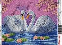 "Картина  ""Лебеді"" №232"