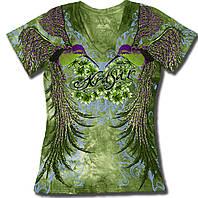 Женская футболка двухсторонняя KRASAR- КОЛИБРИ