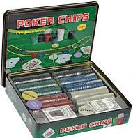 Покер - покерний набор, набор для покера 500 фишек