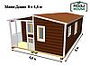 Быстровозводимые модульные дома, Дом из модульных блоков модульные, фото 4