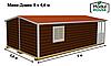 Быстровозводимые модульные дома, Дом из модульных блоков модульные, фото 6