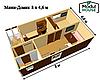 Быстровозводимые модульные дома, Дом из модульных блоков модульные, фото 8