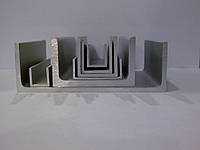 Алюминиевый профиль — швеллер размером 100х50x5 Б/П, фото 1