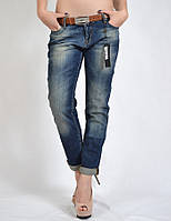 Стильные джинсы бойфренды AMN (amnesia)  3055DNM, фото 1