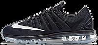 Мужские спортивные кроссовки Nike Air Max 2016 Black Найк Аир Макс черные