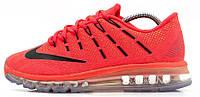 Мужские спортивные кроссовки Nike Air Max 2016 Найк Аир Макс коралловые