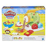 "Набор для творчества Play-Doh с пластилином ""Готовим лапшу""  Play-Doh Noodle Makin Mania Set Макарономания"