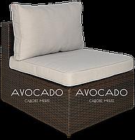 Кресло  плетеное из ротанга PULA  BRAUN  72х84х67см