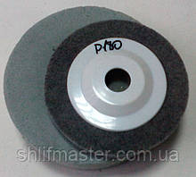 Пенистый полировальный круг на платформе 125х22.2 на болгарку Р180 серый