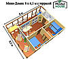 Модульные дома с доставкой , Дома сборные модульные, Модульные мини дома, фото 8