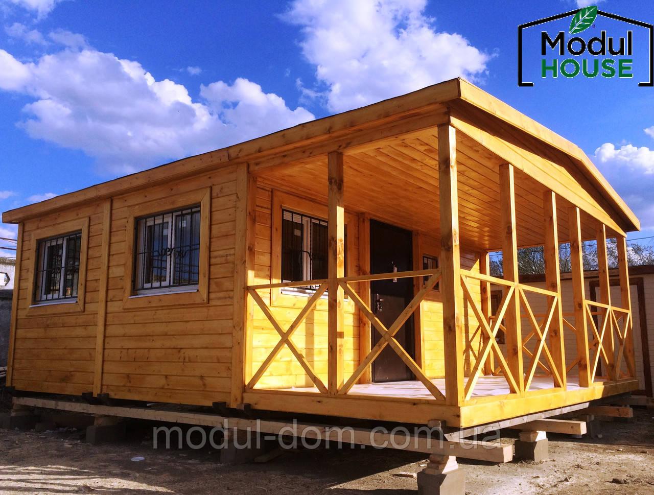 Модульный дом с доставкой и установкой, Модульные дома в Украине
