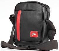Мужская кожаная сумка через плече NIKE  реплика, фото 1