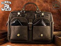 Мужская кожаная сумка бренд оригинал Always Wild