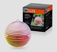 Садовый светильник на солнечных батареях Wolta Плавная смена цвета (RGB)