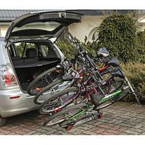 Платформа Amos Titan 4 для 4 велосипедов  на фаркоп, фото 3
