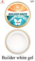 Гель F.O.X. Gele Builder  Gel 15 мл White