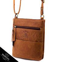 Эффектная женская сумочка кожаная бренд Always Wild