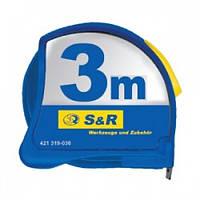 Рулетка S&R 3м серии Spot-On