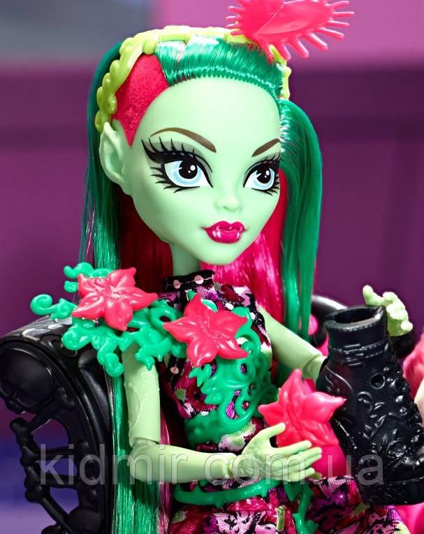 Кукла Monster High Венера МакФлайтрап Venus Mc Flytrap Вечеринка Монстров Монстер Хай