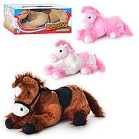 Мягкая игрушка лошадка (поет, говорит)