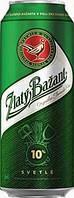 Пиво баночное Zlaty Bazant спайка 6 банок 0,5 ml