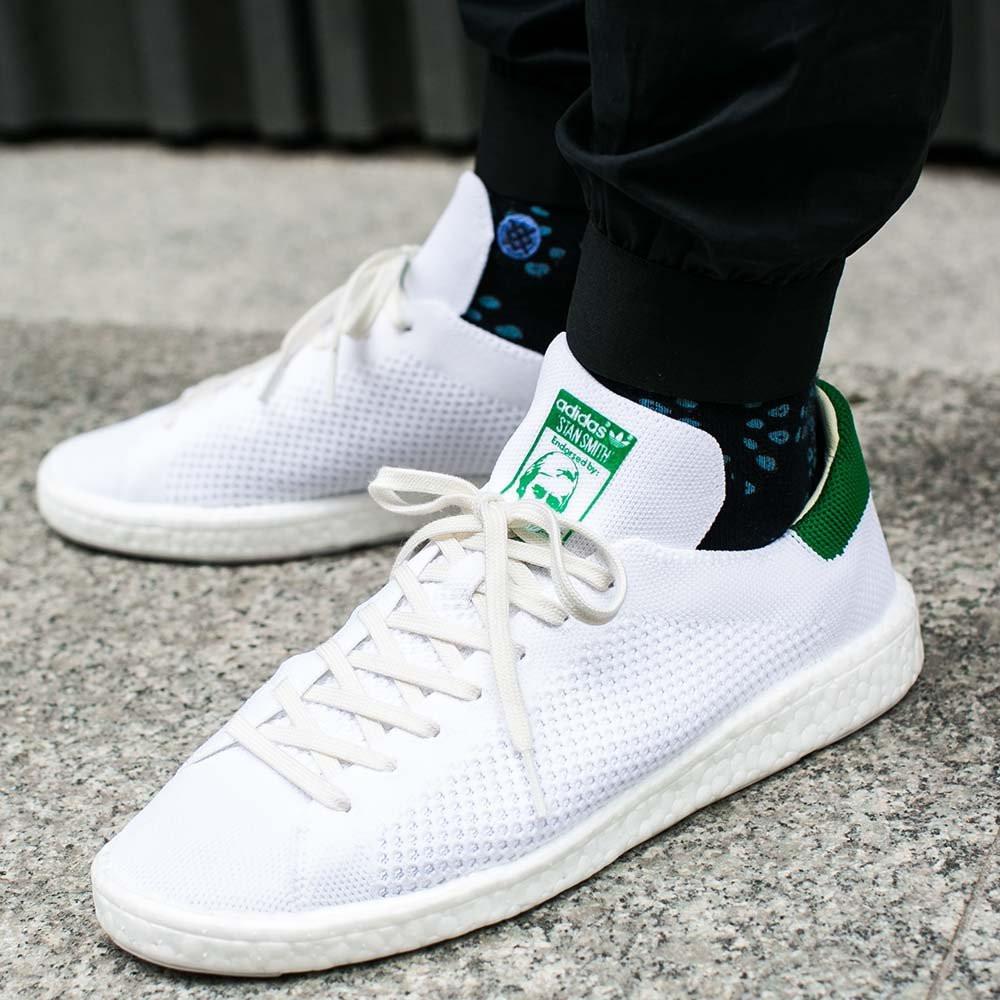 4aa0844213f Оригинальные мужские кроссовки Adidas Stan Smith Boost Primeknit ...