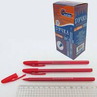 Ручка шариковая 555A (0.6мм) красная