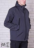 Брендовая мужская куртка MEL - Softshell - серая