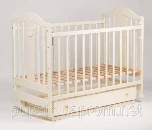 Детская кроватка «НАПОЛЕОН NEW» маятник с/ящ., Ласка-М