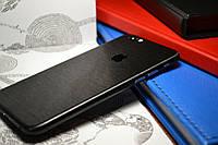 """Виниловая наклейка """"Чёрный металл"""" Iphone 6 / 6S (0,09 mm)"""