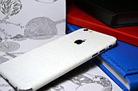 """Виниловая наклейка """"Белая кожа крокодила"""" Iphone 6 / 6S (0,2 mm)"""