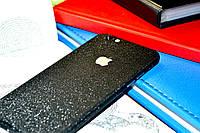 "Наклейка ""Чёрная алмазная крошка"" на Iphone 6/6S (0,11 mm)"