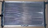 Радиатор охлаждения с кондиционером Ланос grog Корея 96182261 , 96559564