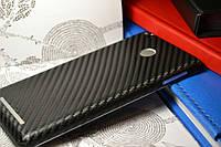 """Виниловая наклейка """"Чёрный карбон"""" Xiaomi Redmi 3S/3PRO (задняя часть) 0,12 mm"""