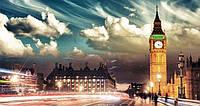 Репродукция на холсте, Вечерний Лондон
