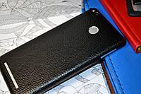 """Виниловая наклейка """"Чёрная кожа"""" Xiaomi Redmi 3S/3PRO (задняя часть) 0,17 mm"""