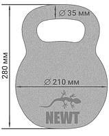 Гиря чугунная Newt 16 кг