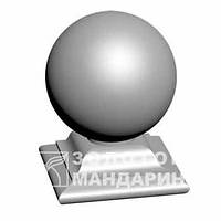 Бетонный шар на подставке