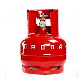 Газовый баллон 5 л пропановый (для дома дачи бытовые)