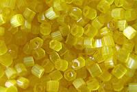 Рубка Preciosa Чехия №05181/847 желтый, граненная