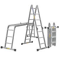 Лестницы-трансформеры алюминиевая 4*3 4*4