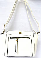 Женские клатчи и сумочки на плечо (БЕЛЫЙ)
