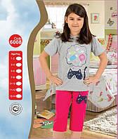 Пижама для девочки Лето Турция 7-8, 11-12, 13-14 лет
