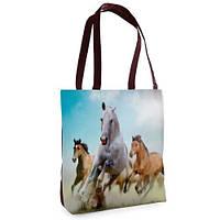Женская сумка Нежность с принтом Лошади