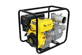 Мотопомпы для грязной  воды КБМ-100П (мотопомпа бензиновая для воды)