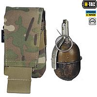 M-Tac подсумок быстроизвлекаемый для осколочной гранаты Multicam