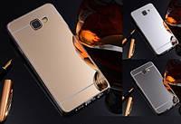 Силиконовый зеркальный чехол для Samsung Galaxy S6