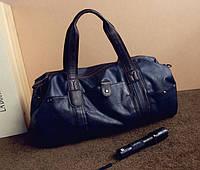 Мужская дорожная кожаная сумка