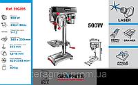 Сверлильный станок 500Вт,GRAPHITE  59G895., фото 1