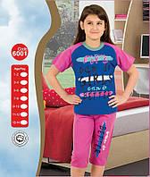Пижама для девочки Лето р.1-2,3-4,5-6 лет